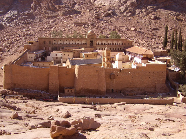 гора моисея в египте