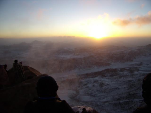 гора моисея где находится