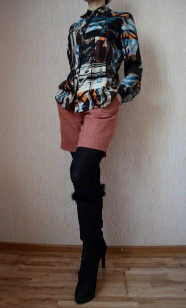 образы с длинной рубашкой