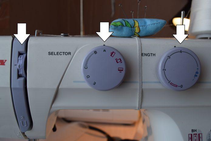 как правильно сделать сборку на ткани