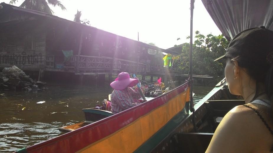 речные каналы Бангкока Тайланд