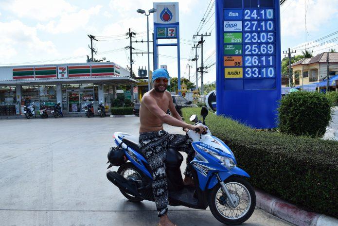 таиланд скутер на прокат