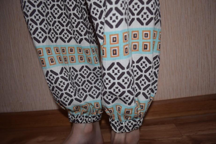 как сшить штаны для девочки своими руками