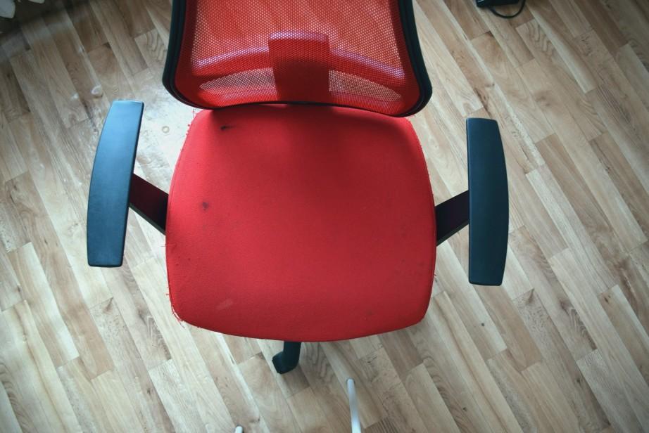 сшить чехол на офисное кресло