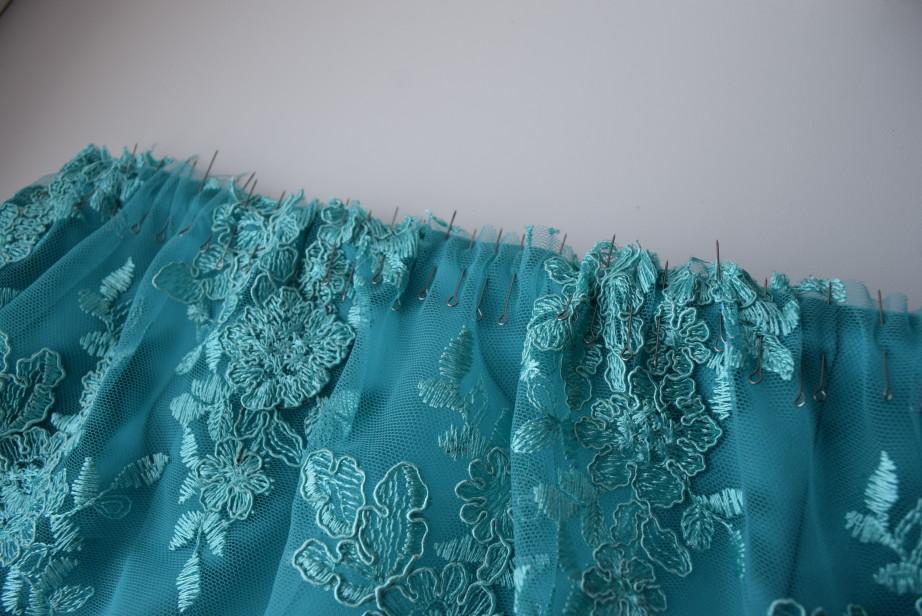 сделать сборку на ткани без швейной машинки