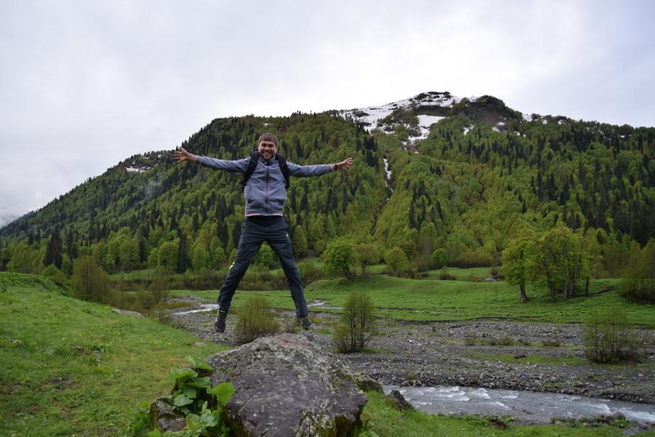 экскурсия в абхазии в гаграх альпийские луга