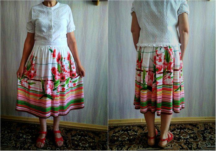 Из платья юбку по пояс