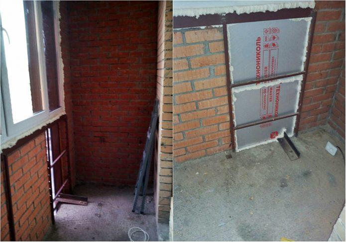 Как утеплить балкон своими руками : пошаговое фото и видео 67