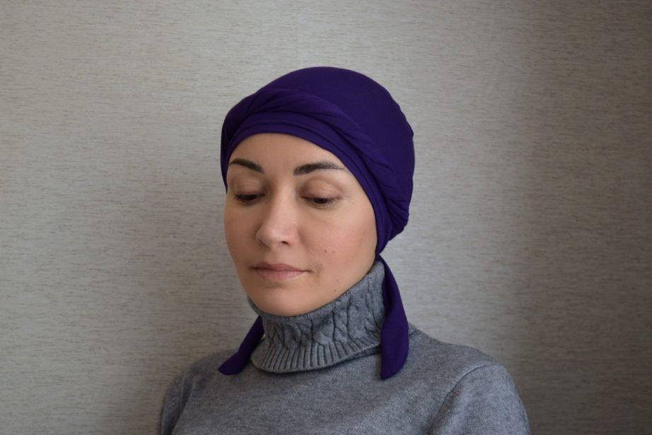 Шапочка под хиджаб своими руками 32