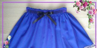 юбка для девочки из сетки своими руками