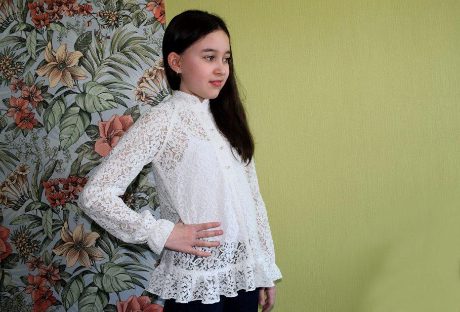 3db5178e7f8 Самая универсальная выкройка блузки для девочки МК пошагово