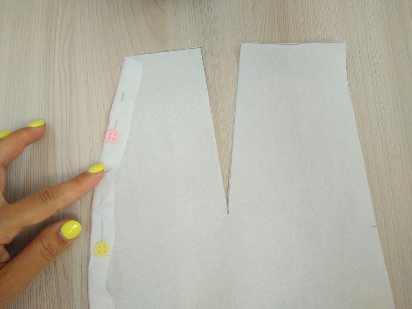 как пришить лампасы к готовым брюкам