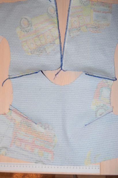 сшить простое детское платье