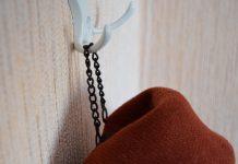 как пришить вешалку к пальто