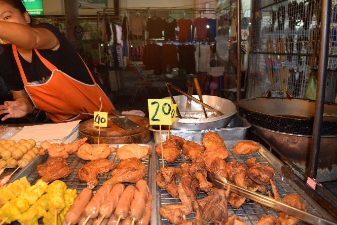 рынок Патонг курица 40 бат