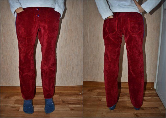 как удлинить короткие джинсы