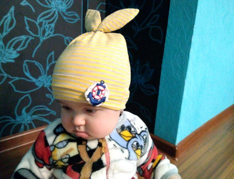 как сшить шапочку из трикотажа