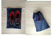как сшить мешок для обуви школьнику выкройка