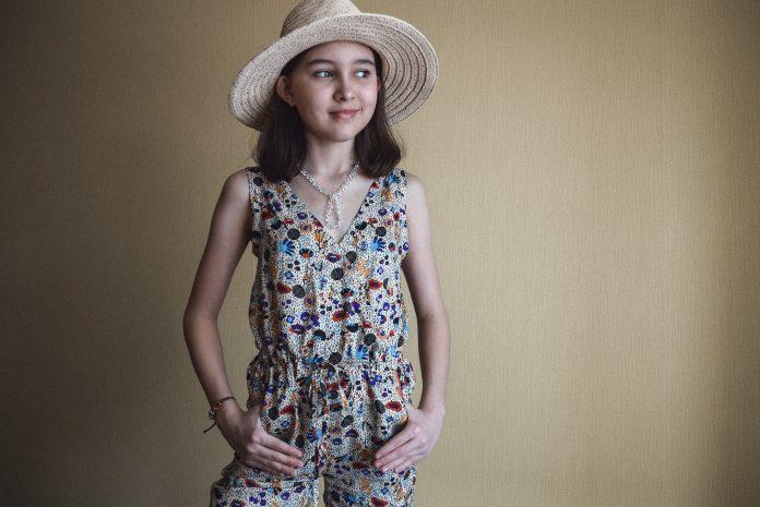 выкройка летнего комбинезона для девочки