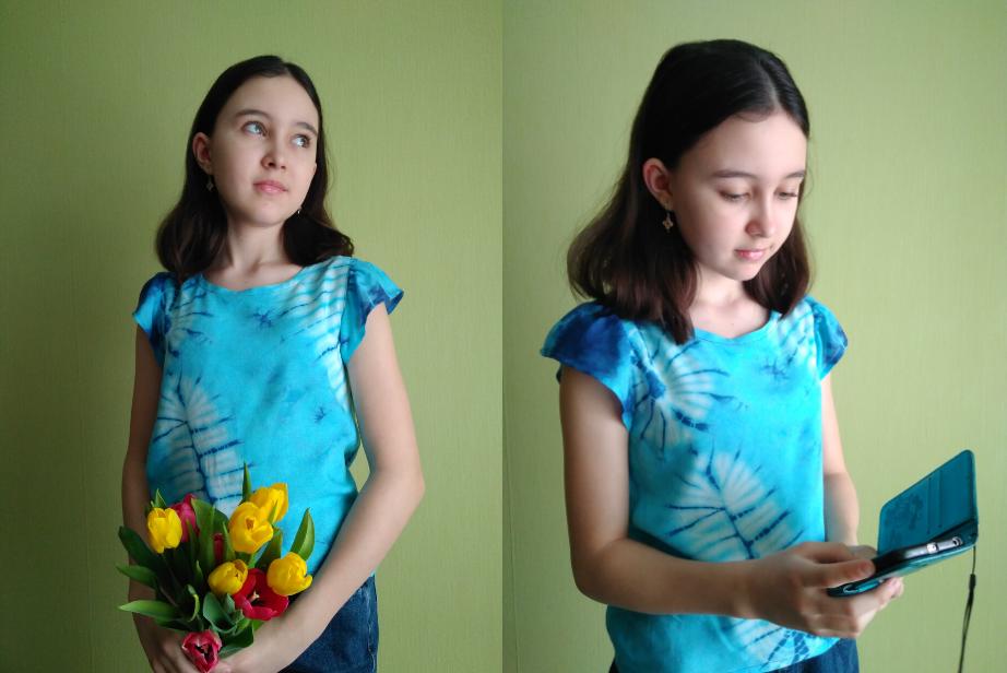 выкройка детской блузки