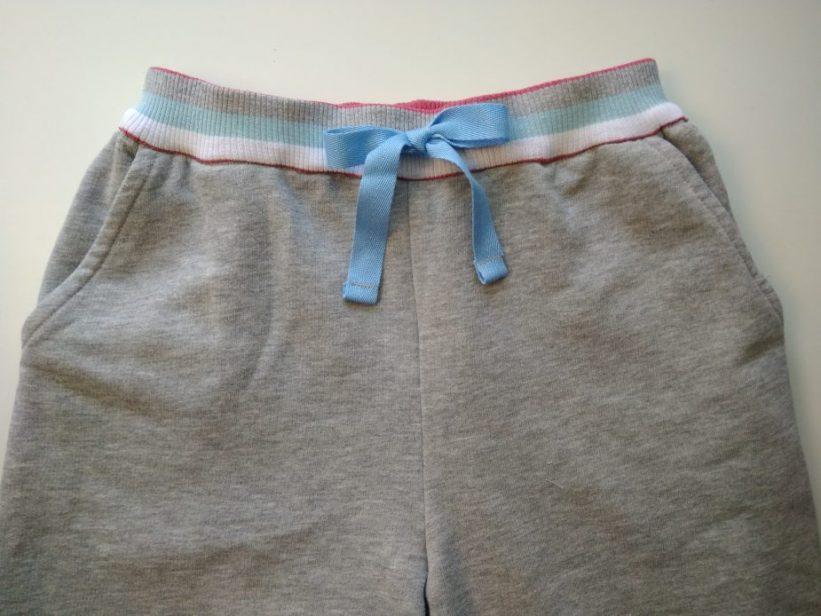 как пришить пояс к штанам на резинке