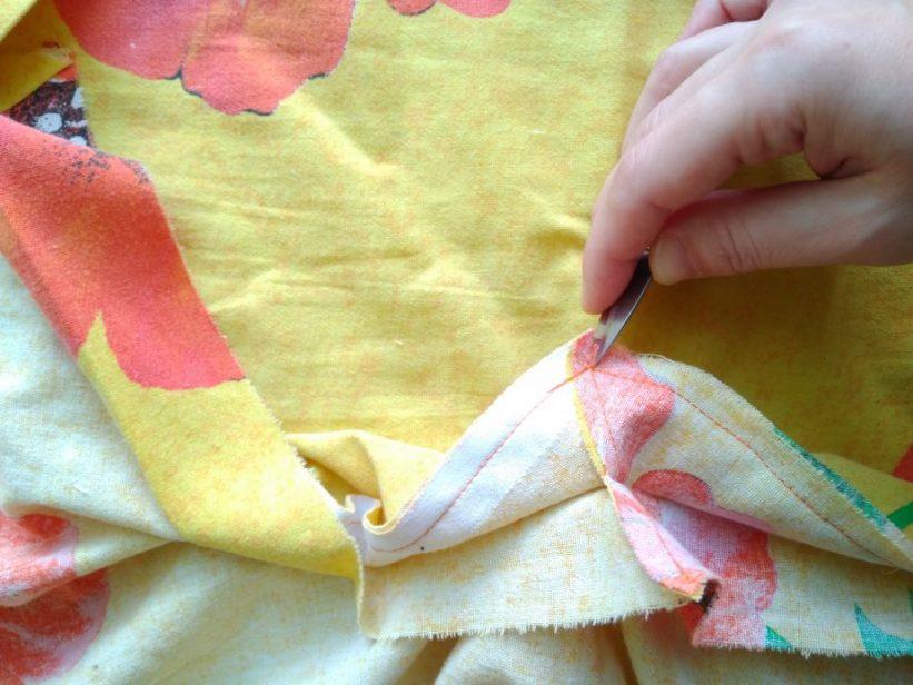 как сшить пододеяльник для детского одеяла