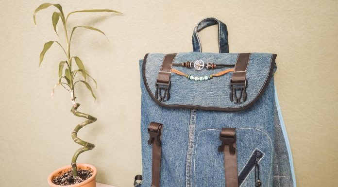 выкройка рюкзака с размерами