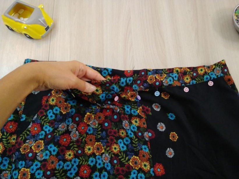 выкройка брюк бананов женских