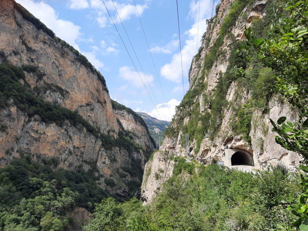 чегемское ущелье где находится
